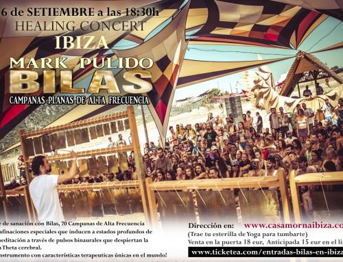 Mark Pulido con las Bilas en Ibiza